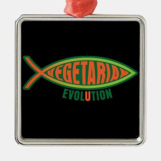 Vegetarian Evolution Ornament
