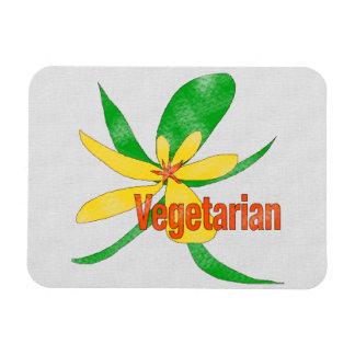 Vegetarian Flower Flexible Magnet
