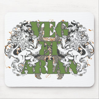 Vegetarian Lions Mouse Pad
