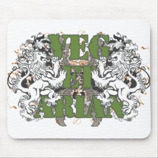 Vegetarian Lions Mousepads
