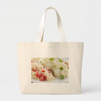 Vegetarian Meal Cloth Shopping Bag