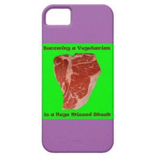 Vegetarian Missed Steak iPhone 5/5S Case