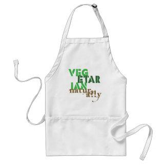 Vegetarian Naturally Adult Apron