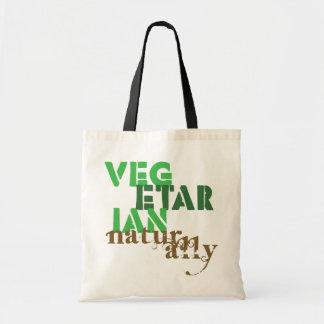 Vegetarian Naturally Budget Tote Bag