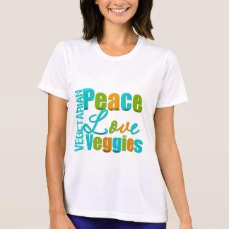 Vegetarian Peace Love Veggies Shirt
