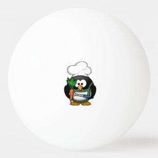 Vegetarian Penguin Chef Ping-Pong Ball