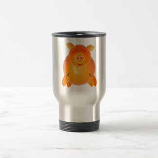 Vegetarian piglet, ideally tons of ADDs your own Stainless Steel Travel Mug
