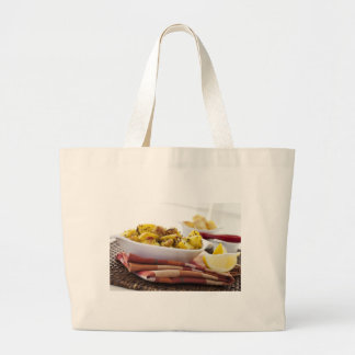 Vegetarian Potato Dish Cloth Shopping Bag