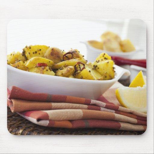 Vegetarian Potato Dish Mousepad