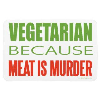 Vegetarian Vinyl Magnets