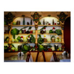Vegetarian restaurant ( display ) postcard