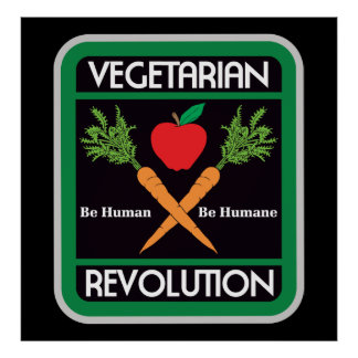 Vegetarian Revolution Poster