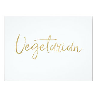 """Vegetarian"" Sign 
