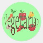Vegetarian Stickers