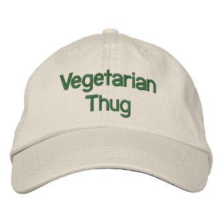 Vegetarian Thug Embroidered Hat