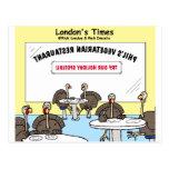 Vegetarian Turkey Offbeat Cartoon Funny Gifts