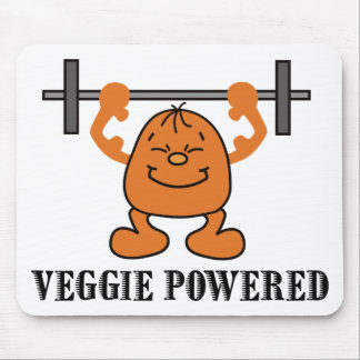 Vegetarian Vegan Power Mouse Pad