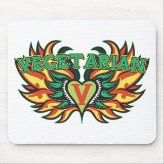 Vegetarian Wings Mouse Pad
