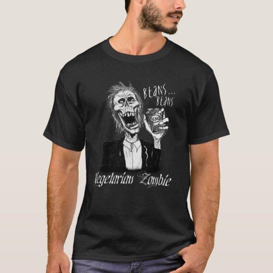 Vegetarian Zombie Black T-Shirt