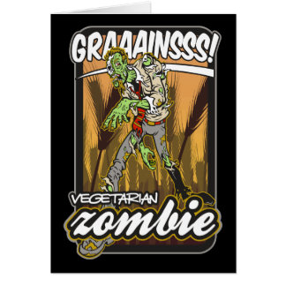 Vegetarian Zombie Cards