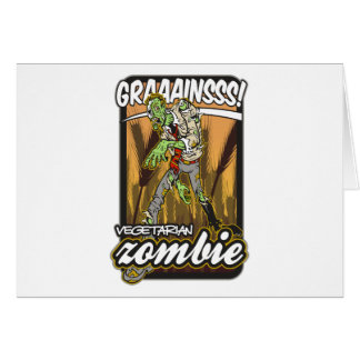Vegetarian Zombie Cards