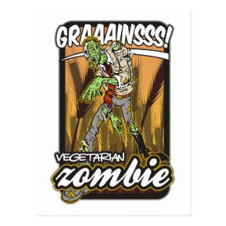 Vegetarian Zombie Post Card