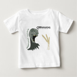 Vegetarian Zombie wants Graaaains! Baby T-Shirt