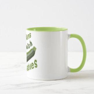 Vegetarians Do It with Vegetables Mug