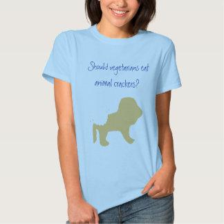 Vegetarians Eat Animal Crackers? T Shirt