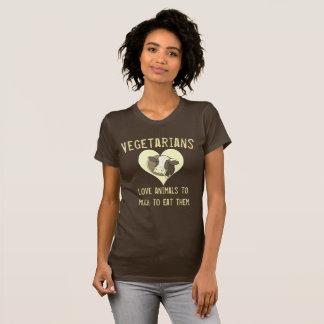 Vegetarians Love Animals T-Shirt