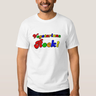 Vegetarians Rock Tshirts