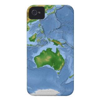 Vegetation Map 2 iPhone 4 Case