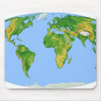 Vegetation Map 4 Mouse Mat