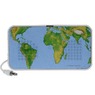 Vegetation Map 4 iPod Speakers