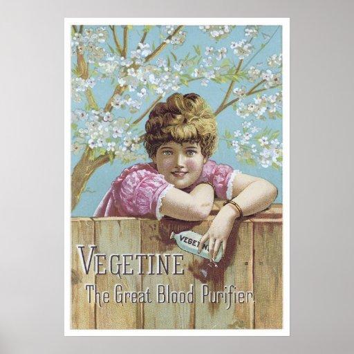 Vegetine Blood Purifier Poster