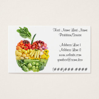 Veggie Apple Business Card