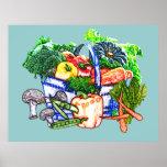 Veggie Basket Print