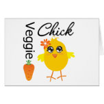 Veggie Chick Greeting Cards