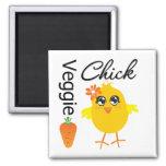 Veggie Chick Magnets