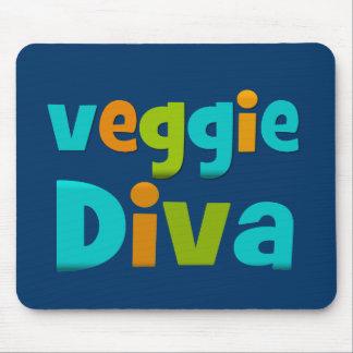 Veggie Diva Mouse Pad