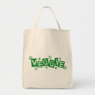 Veggie For Vegetarians and Vegans Tote Bags