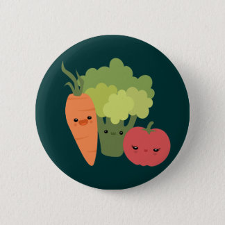 Veggie Friends 6 Cm Round Badge