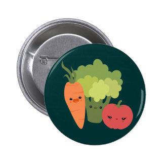 Veggie Friends 6 Cm Round Badge