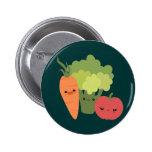 Veggie Friends Buttons