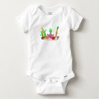 Veggie Friends for Baby Bodysuit