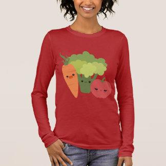 Veggie Friends Long Sleeve T-Shirt