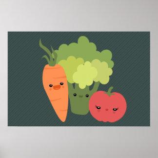 Veggie Friends Poster