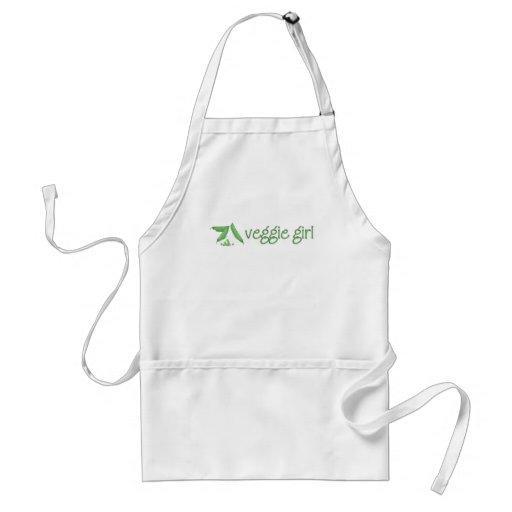 Veggie Girl Apron