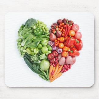 Veggie Heart Mouse Mat