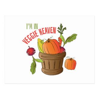 Veggie Heaven Postcard